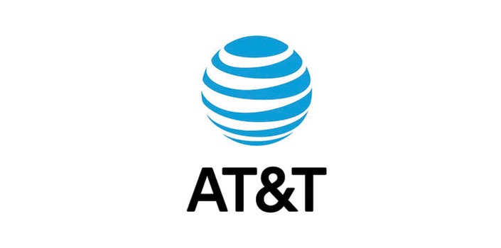 A T and T logo
