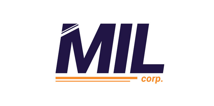 The MIL corp logo